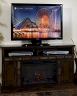 Santa Fe Fire Place/ TV Console by Sunny Designs SU-3490DC-54R