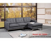 Sectional 2pc Fabric Sofa Set MF-S2020L