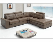 Sectional Set w/ Sleeper Made in Spain Emma ESFEM