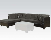 Sectional Sofa Connell Olive Gray by Acme Furniture AC55955