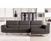 Sectional Sofa in Contemporary Style 44L6062
