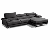 Sectional Sofa in Fabric Modern Style 44L6053