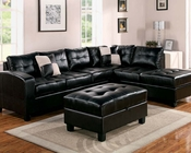 Sectional Sofa Set Kiva Espresso by Acme Furniture AC51195SET