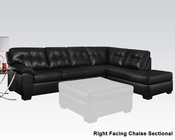Sectional Sofa Shi Onyx by Acme Furniture AC50615