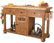Sedona Kitchen Island by Sunny Designs SU-2522RO