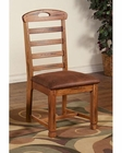 Sedona Ladderback Side Chair by Sunny Designs SU-1418RO-CT (Set of 2)