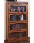 Sedona Lawyers Bookcase by Sunny Designs SU-2952RO-L4