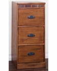 Sedona Three File Cabinet by Sunny Designs SU-2863RO-F3