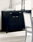 Server in Distressed Black  - Coaster CO-101565