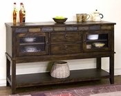 Server w/ Two Drawers Santa Fe by Sunny Designs SU-2446DC-D
