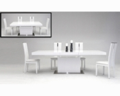 Set w/ Extendable Dining Table in Contemporary Style 44D841XT-SET