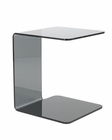 Side Table in Bent Glass Bonfilia by Euro Style EU-38506