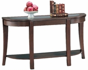Simpson Sofa Table with Glass Top CO5526