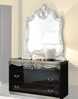 Single Dresser Silver Baroque Classic Style Made in Italy 33B447