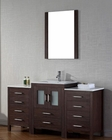 Single Espresso Bathroom Set Dior by Virtu USA VU-KS-70060-C-ES