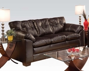 Sofa in Premier Chocolate Hayley by Acme AC50355