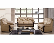 Sofa Set in Classic Style European Design in Beige Finish 33SS281