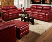 Sofa Set in Soho Cardinal Finish Jeremy by Acme AC50595SET