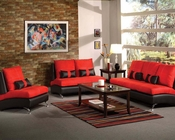 Sofa Set Jolie Red by Acme Furniture AC51745SET