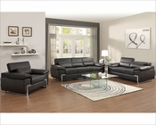 Sofa Set Kira by Homelegance EL-9647BLK-SET