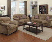 Sofa Set Patricia Light Brown by Acme AC51950SET
