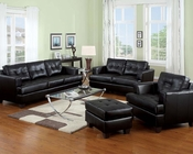 Sofa Set Platinum Black by Acme Furniture AC15090B-SET