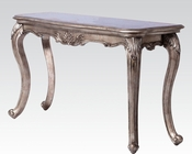 Sofa Table in Antique Platinum Chantelle by Acme Furniture AC80542
