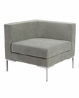 Sofa w/ Arms Unit Vittorio by Euro Style EU-05005GRY
