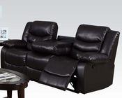 Sofa w/ Drop Down Table Torrance by Acme Furniture AC50575