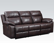 Sofa w/ Motion Dyson Burgundy by Acme Furniture AC50855