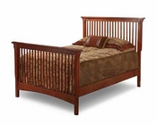 Solid Oak Mission Style Twin bed