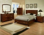 Solitude Contemporary Bedroom Set by Ayca AY-17-32Set