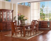 Somerton Dining Set w/ Rectangular Table Runway SO-140-64SET
