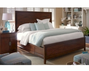 Somerton Dwelling Bedroom Set w/ Panel Bed Claire de Lune SO-801SET