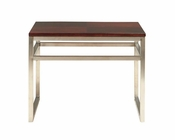 "Somerton Dwelling Contemporary End Table/ ""C"" Stand Soho SO-432-01"