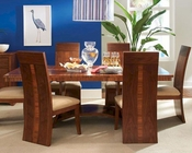 Somerton Dwelling Dining Set w/ Patterned Table Milan SO-153-62SET