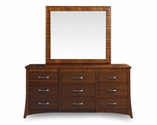 Somerton Dwelling Dresser w/ Mirror Milan SO-153-92-93