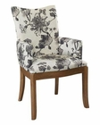 Somerton Dwelling Floral Armchair Sophisticate SO-805F46 (Set of 2)