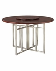 Somerton Dwelling Round Table w/ Lazy Susan Soho SO-432-61