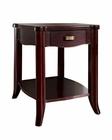 Somerton Dwelling Traditional Chair Side Table Signature SO-138-01