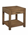 Square End Table Weathered Transitions by Hekman HE-951403WT