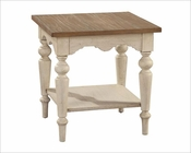 Square Lamp Table Sutton's Bay by Hekman HE-14115
