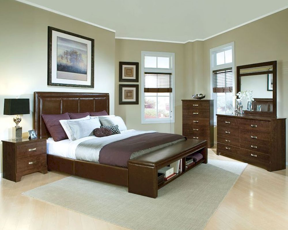 standard furniture bedroom set st 55181set