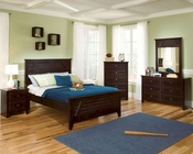Standard Furniture Club House Panel Bedroom Set ST-57453SETDR