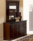 Standard Furniture Dresser & Mirror Empire ST-53959-68