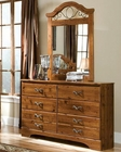 Standard Furniture Dresser & Mirror Hester Heights ST-61159-68