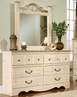 Standard Furniture Dresser & Mirror Seville ST-6429-18
