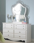 Standard Furniture Dresser & Mirror Spring Rose ST-50259-88
