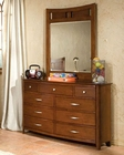 *Standard Furniture Dresser with Mirror Village Craft ST-95859-95868