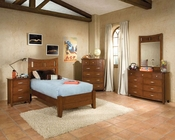 *Standard Furniture Platform  Bedroom Set Village Craft ST-95850P